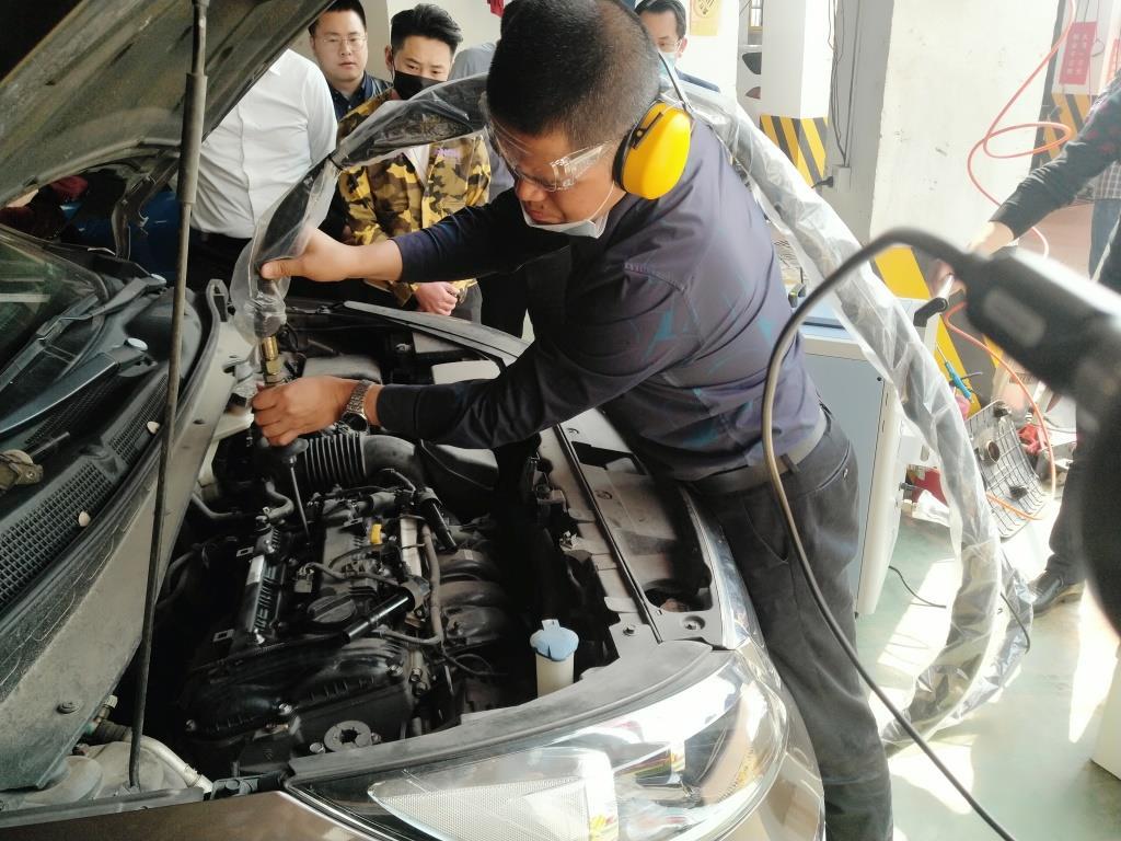 汽车干冰除炭项目上线
